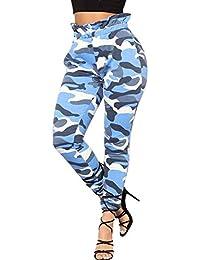 Amazon.fr   Pantalon Militaire Femme - 34   Pantalons   Femme ... 93f7bf3ed98