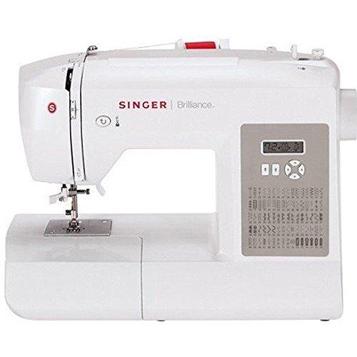 Singer Brilliance 6180 Computerised Sewing Machine (White)