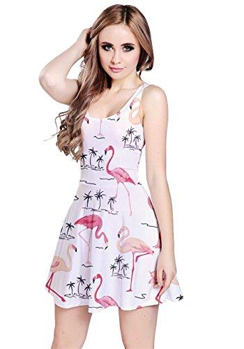 CowCow - Robe - Femme jaune jaune White Flamingo