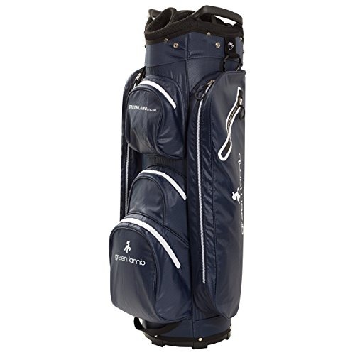 New Green Lamb Golf Cartbag Damen, Navy-Weiß