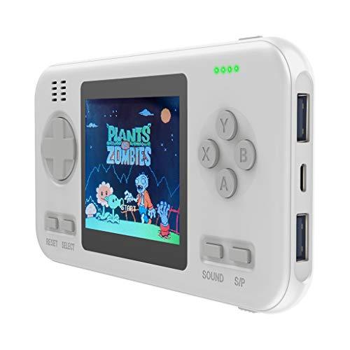 Jamicy® Handheld Spielkonsole, Kapazität Tragbare Spielekonsole Energienbank QI Tragbares USB-Ladegerät, das Beste Geburtstagsgeschenk für Kinder (B02)