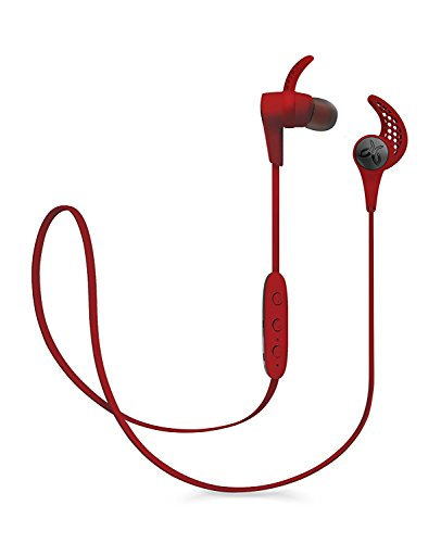 Jaybird X3 Bluetooth Wireless Headphones Compatible with iOS/Android Smartphones Designed for Sport/Running/Fitness - Red