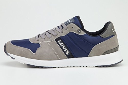 Levi's Schuhe Sneaker Baylor Regular Grey 227240-1920-55 W18-LVSS Größe 45