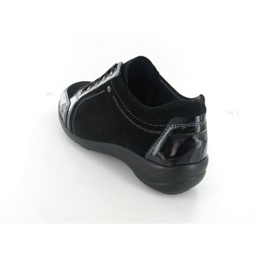 Semler Birgit B6025515001 femmes Chaussures à lacets Noir
