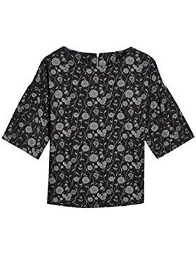 next Mujer Camiseta De Jacquard Con Estampado De Flores