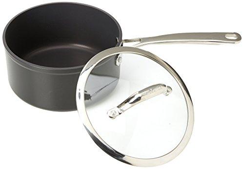 Brabantia 18 cm Tritanium Saucepan with Glass Lid