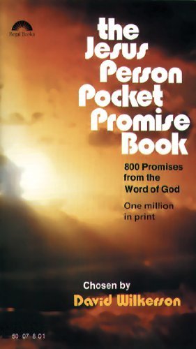 The Jesus Person Pocket Promise Book by David Wilkerson (January 15,1990)
