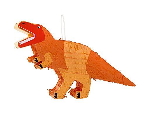 Party Dinosaurs Mini T.Rex Pinata Papier mehrfarbig ()