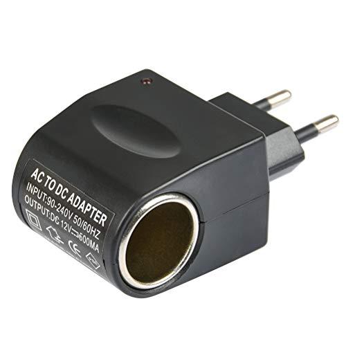 QLOUNI Cargadores de Cigarrillos de Coche Adaptador Enchufe de Convertidor Universal 220V...
