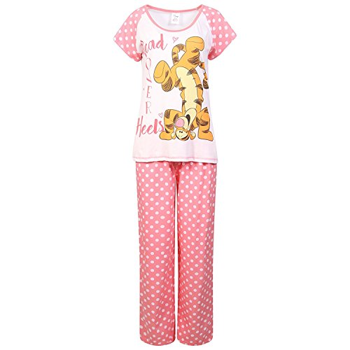 Disney Tiger Head over Heels Ladies Pyjamas - 41WXqLkQ 2BJL - Disney Tiger Head over Heels Ladies Pyjamas
