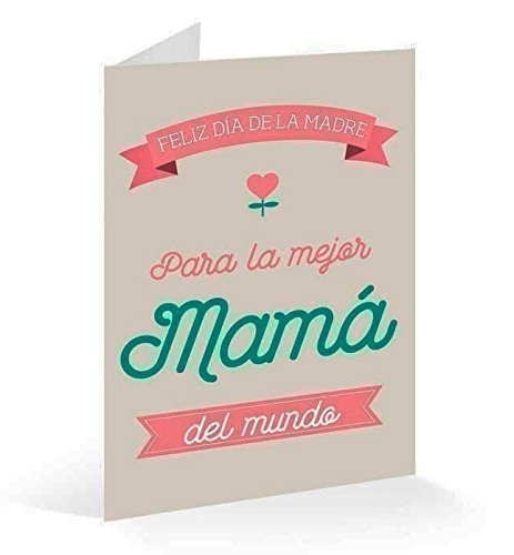 Erik Postal Feliz Día de la Madre 17 x 11 cm TF0284