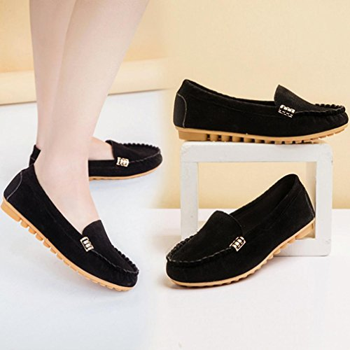 df6bfe00ab9 JYC 2018 Clearance Ladies Women Casual Flat Shoes Leather Loafers  Comfortable ...