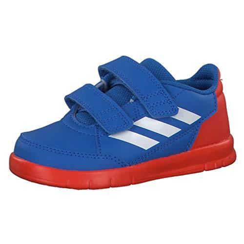 adidas Unisex Baby AltaSport CF I Gymnastikschuhe, Blau True Blue/FTWR White/Active Orange, 26 EU
