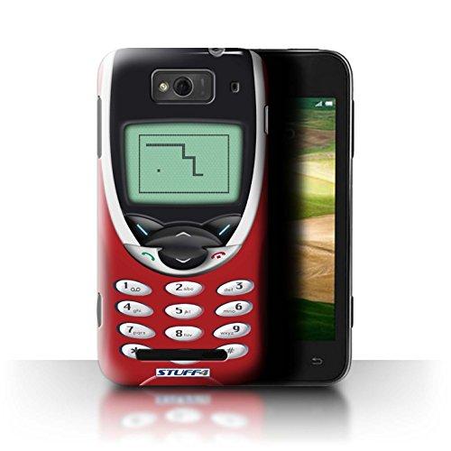 Stuff4® Hülle/Hülle für Xiaomi Mi 1S / Rotes Nokia 8210 Muster/Vintage Handys Kollektion (Red Mi 1s Handy)