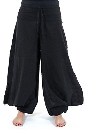 -pantalon-acrobate-ethnique-jambe-large-noir-uni-wazu-taille-unique