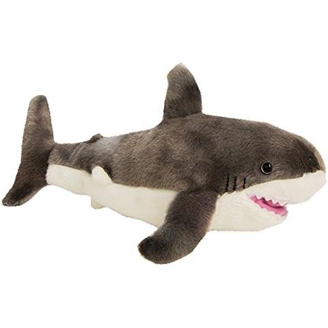 Wild Republic - Peluche Cuddlekins Mini Tiburón Blanco, 20 cm (10882)