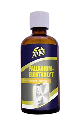 Palladiumelektrolyt (100 ml), Ersatz für Vernickeln, Grundlage für das Vergolden – Ideale Sperrschicht