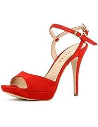 Evita Shoes Valeria - Sandalias de vestir de Piel para mujer