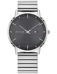 Tommy Hilfiger Reloj Analógico para Hombre de Cuarzo con Correa en Acero Inoxidable 1791654