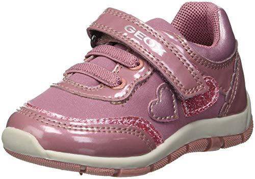 Geox Baby Mädchen B Shaax B Sneaker Dk Pink C8006, 26 EU
