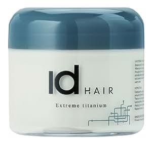 IdHAIR Titanium - Mega Strong Hair Wax, 1er Pack (1 x 100 ml)
