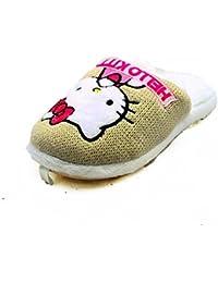 Niños Chicas Soft soft hello las zapatillas de gatito