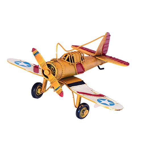 berry-presidentr-vintage-retro-wrought-iron-metal-propeller-airplane-plane-aircraft-handicraft-model