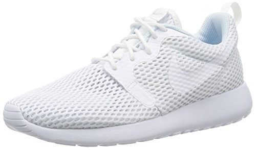 Nike Roshe One Hyperfuse Br, Chaussures de Running Entrainement Femme Blanc (White/White/Pure Platinum)