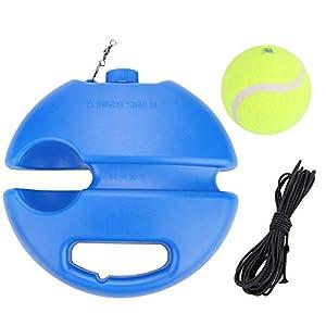 Alomejor Tennisball Trainer Tennis Baseboard mit einem Seil und 1 Trainingsball Tennis Selbststudium Praxis Training…