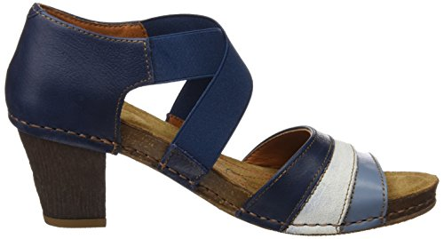 ART 0148 Memphis i Meet, Sandali Open Toe Donna Blu (Blue)