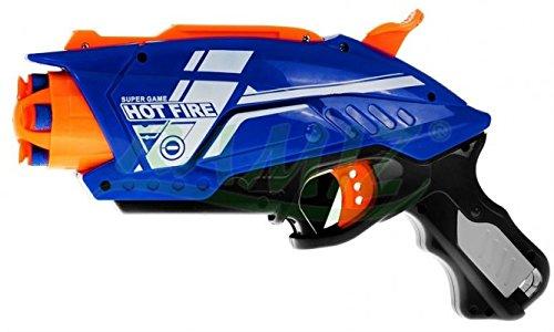 Blaze Storm Hot Fire - Kleine Spielzeug Blaster - Blau