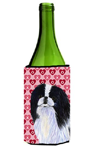 japanese-chin-hearts-love-and-valentine-s-day-portrait-michelob-ultra-koozies-for-slim-cans-ss4467mu