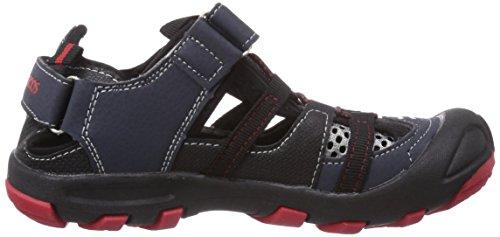 2068 red flame Jungen KangaSpeed navy KangaROOS Sneakers 461 Blau dk xWqR58qwBO