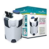All Pond Solutions 2000EF Aquarium External Filter, 2000 Litre/ Hour