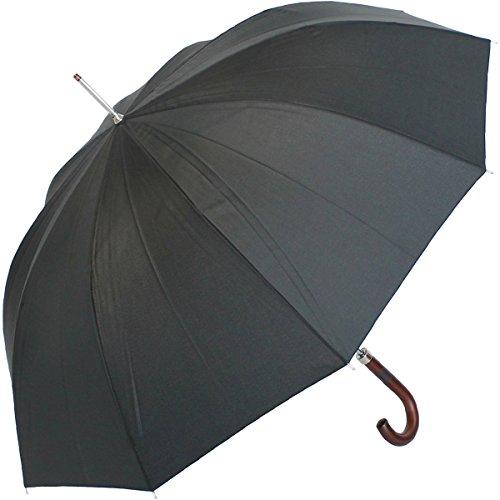 Regenschirm Stockschirm Herren X.O. Automatik schwarz