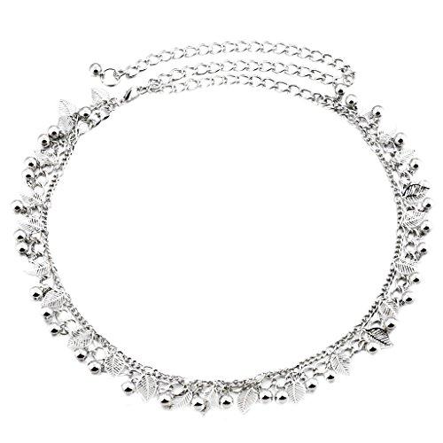 MagiDeal Donne Perline Cristallo Diamante Abito Cintura Abito Cintura Catena Cinghia Di Vita