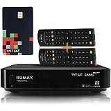 Récepteur Satellite TNTSAT TNT Décodeur - + TNTSAT Carte + Cable HDMI 1.5 M- HD Astra (19,2°) / HDMI / MPEG4 / Full HD / 1080P