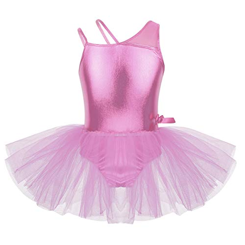 DPois Vestido Ballet Patinaje Niña Maillot Ballet