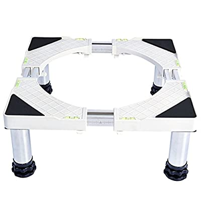 Chunse Shelving Base Bracket,Washing Increase High Waterproof Moisture-Proof 4 Feet Manual Installation Tray,Adjustable Bracket,L(W) 46~69CM from ChunSe
