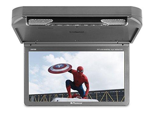 """Phonocar vm199 monitor da tetto 13,3"""" con dvd usb sd auto pullman"""