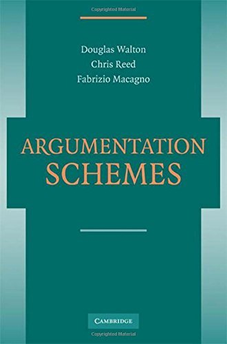 Argumentation Schemes by Douglas Walton (2008-08-04)