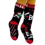 ABS Socken Kinder Einzelpaar Motiv Baseball, Größe:39/42, Farben alle:marine