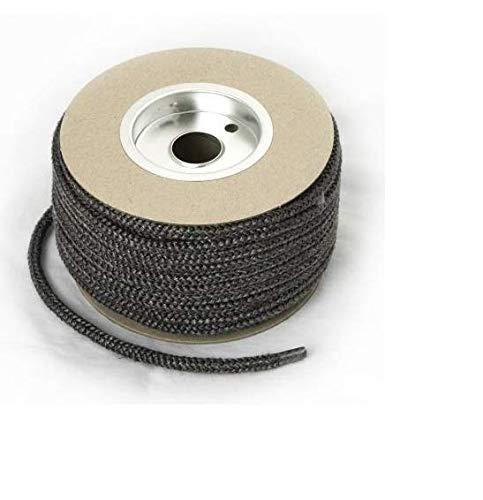 Ersatz-Seil aus Fiberglas, 9 mm x 2 m, Schwarz