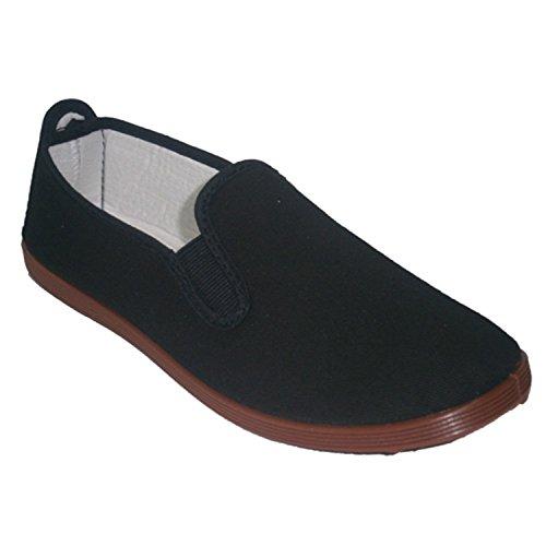 Pantofole per tai chi, yoga e Kunfu Irabia nero taille 44