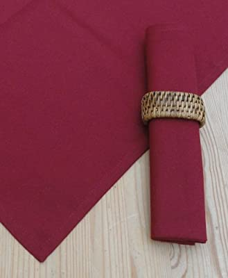 Pack Of 4 Wine Table Napkins