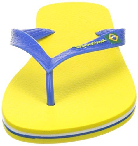 Ipanema Classica Brasil Ii Hom, Tongs Homme Jaune (Yellow/Blue)