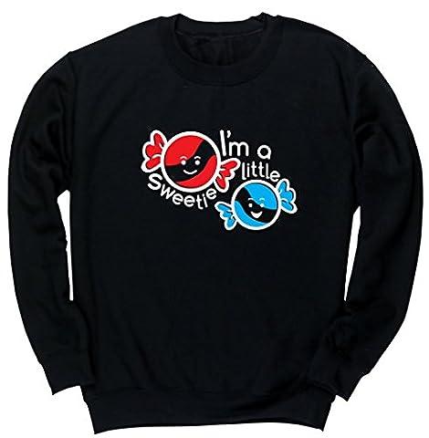 HippoWarehouse I'm a little sweetie kids unisex jumper sweatshirt