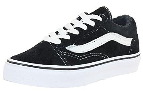 Vans Old Skool Skate Shoes - Black/True White