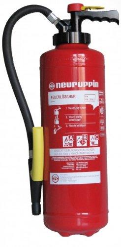 6kg ABC Feuerlöscher - Markenqualität von Neuruppin - PG6FAIN Aufladefeuerlöscher