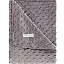 pirulos 64105140–Doppelseitige Decke, 110x 140, gepunktet, 05140Marengo
